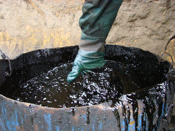 переработка нефтяные отходы
